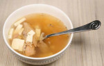 Turkey Tofu Soup and Turkey Broth