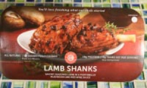 Review of Cuisine Solutions Lamb Shanks