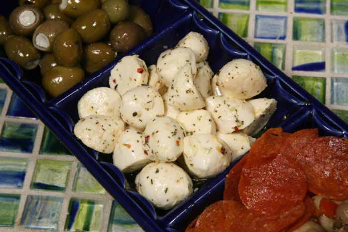 Marinated Mozzarella 8