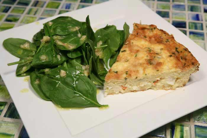 Lobster Quiche 1