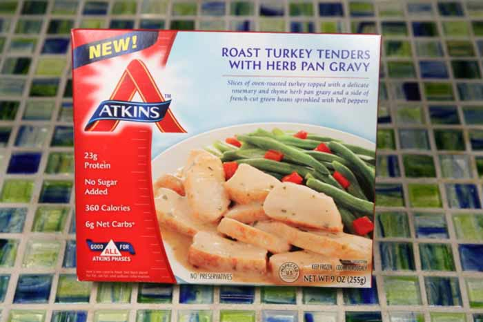 Atkins Frozen Meals 3