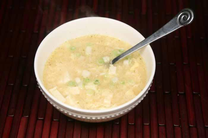 Egg Drop Tofu Soup 4