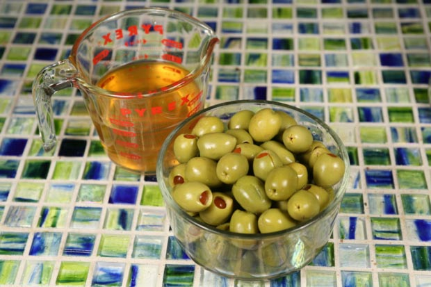 Blue Cheese Stuffed Olives2
