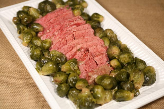 Corned Beef and Brussels Sprouts