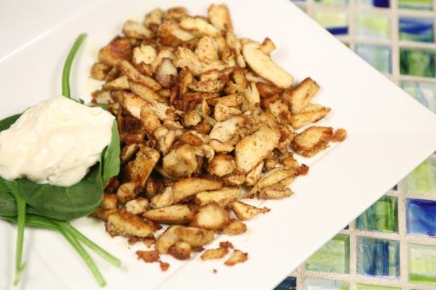 Making Chicken Shawarma Urdu Arabic Recipe Pictures